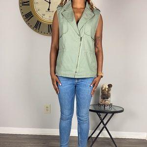 Green Utility Vest from Forever 21